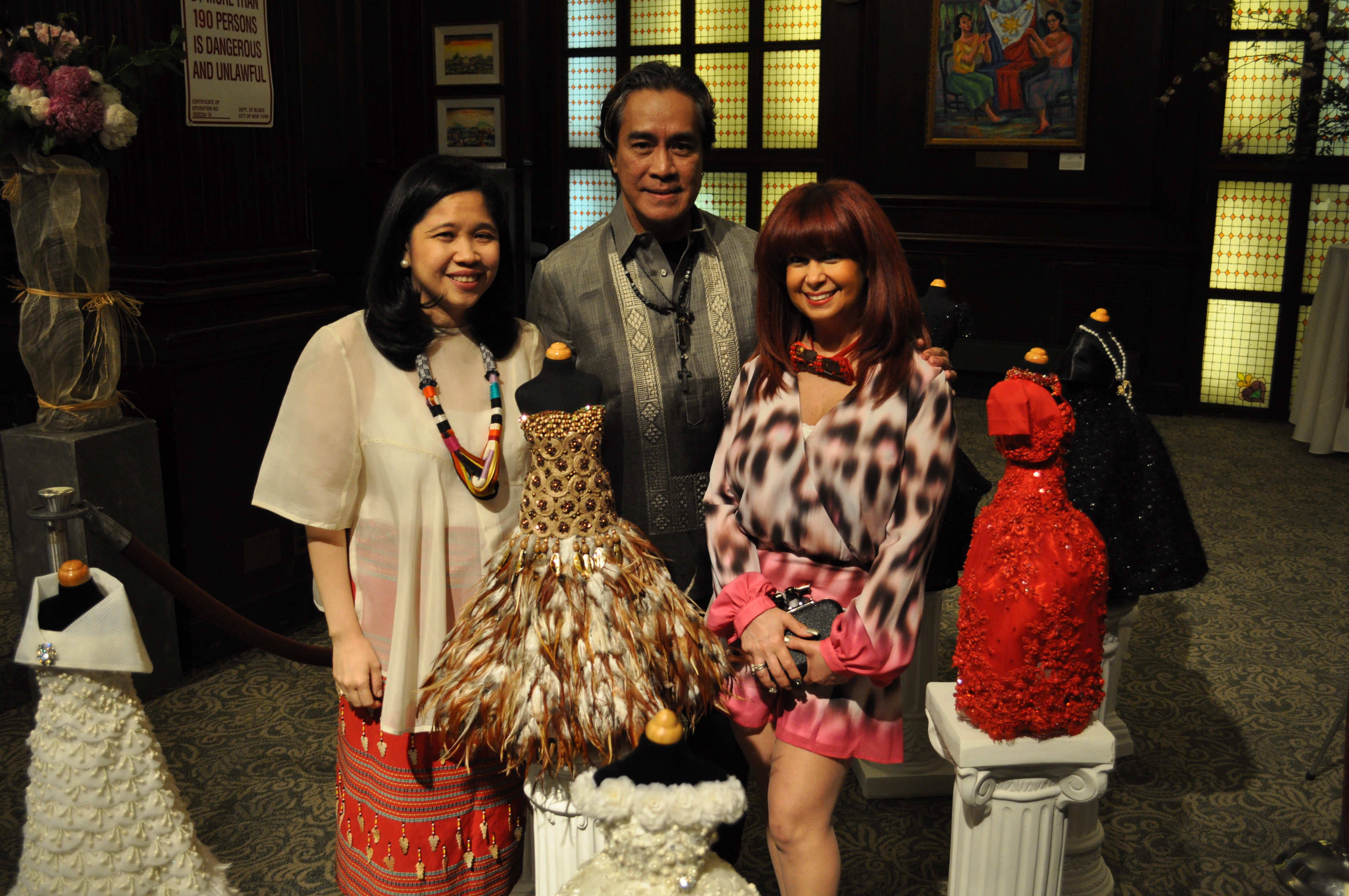 Le Petite Couture at the Philippine Consulate General In New York City
